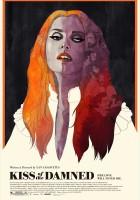 plakat - Pocałunek potępionych (2012)