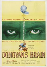 Donovan's Brain (1953) plakat