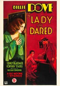 The Lady Who Dared (1931) plakat