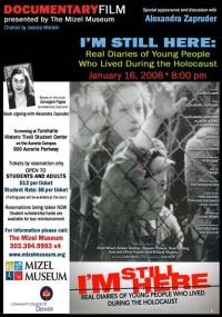 I'm Still Here: Real Diaries of Young People Who Lived During the Holocaust (2005) plakat