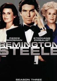 Detektyw Remington Steele (1982) plakat