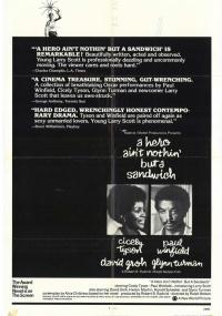 A Hero Ain't Nothin' But a Sandwich (1978) plakat