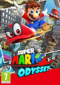 Super Mario Odyssey (2017) plakat