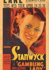 Gambling Lady (1934) plakat