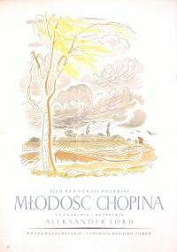 Młodość Chopina (1951) plakat