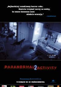 Paranormal Activity 2 (2010) plakat