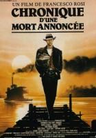 Kronika zapowiedzianej śmierci (1987) plakat