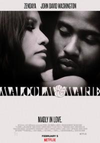 Malcolm i Marie (2021) plakat