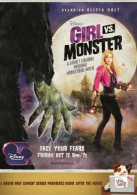 Dziewczyna kontra potwór (2012) plakat