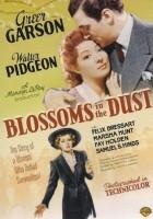 plakat - Kwiaty pokryte kurzem (1941)