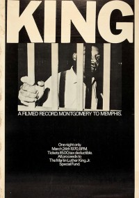 King: A Filmed Record... Montgomery to Memphis (1970) plakat