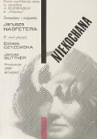 plakat - Niekochana (1965)