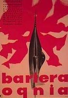 Bariera ognia (1961) plakat