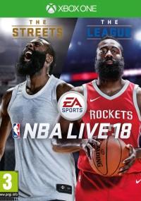 NBA Live 18 (2017) plakat