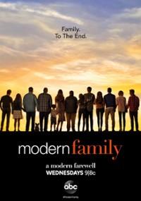 Współczesna rodzina (2009) plakat