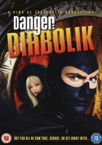 Diabolik (1968) plakat