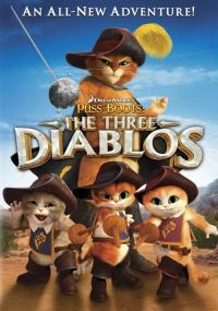 Kot w butach: Trzy diabły (2012) plakat