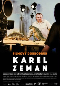 Film Adventurer Karel Zeman (2015) plakat