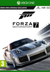 Forza Motorsport 7 (2017) plakat