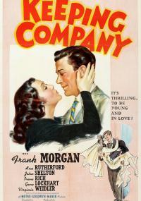 Keeping Company (1940) plakat