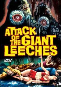 Atak gigantycznych pijawek (1959) plakat