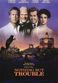 Same kłopoty (1991) plakat