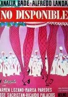 No disponible (1968) plakat