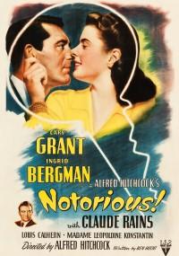 Osławiona (1946) plakat