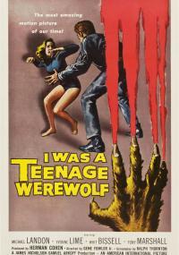 Byłem nastoletnim wilkołakiem (1957) plakat