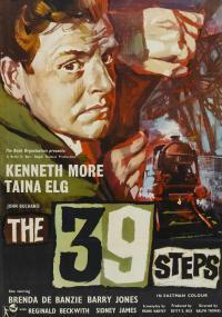 The 39 Steps (1959) plakat