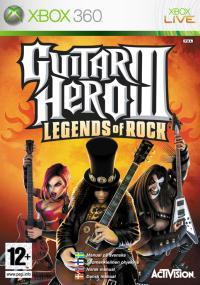 Guitar Hero III: Legends of Rock (2007) plakat