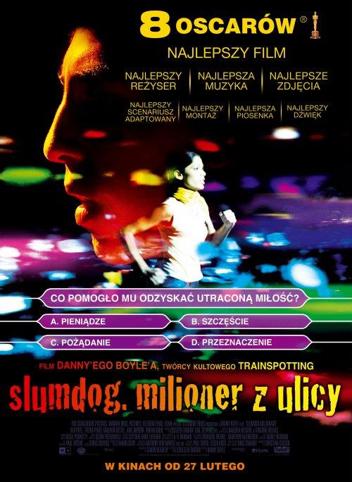 Slumdog. Milioner z ulicy Poster