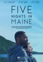 plakat - Five Nights in Maine (2015)