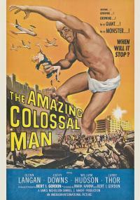 Zdumiewająco kolosalny człowiek (1957) plakat