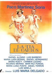 La Tía de Carlos (1981) plakat
