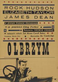 Olbrzym (1956) plakat