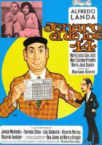 Jenaro el de los 14 (1974) plakat