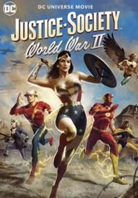 Justice Society: World War II (2021) plakat