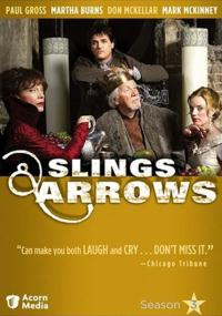 Slings and Arrows (2003) plakat