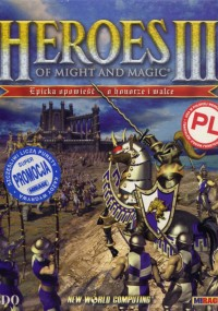 Heroes of Might and Magic III: Odrodzenie Erathii (1999) plakat