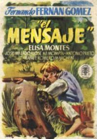 El Mensaje (1955) plakat