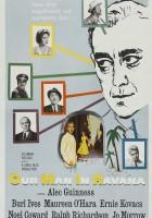 plakat - Nasz człowiek w Hawanie (1959)