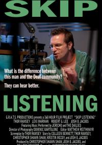Skip Listening (2010) plakat