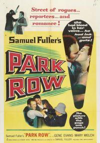 Park Row (1952) plakat