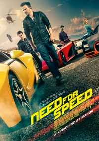 Need for Speed (2014) plakat