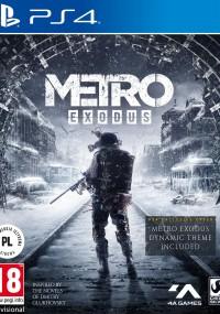 Metro Exodus (2019) plakat