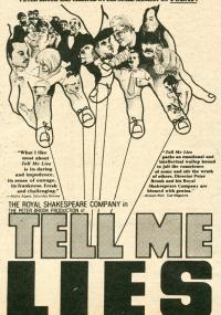 Tell Me Lies (1968) plakat