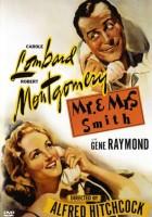 plakat - Pan i Pani Smith (1941)