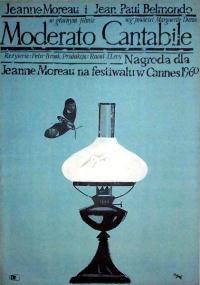 Moderato Cantabile (1960) plakat