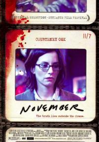 Listopad (2004) plakat